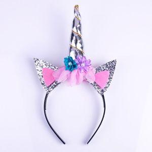 Other - Magical Unicorn Horn Headband Kids Silver 1PC